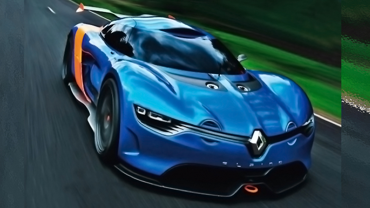 leaked 2012 renault alpine a110 50 concept v6 400 hp monaco carwp. Black Bedroom Furniture Sets. Home Design Ideas