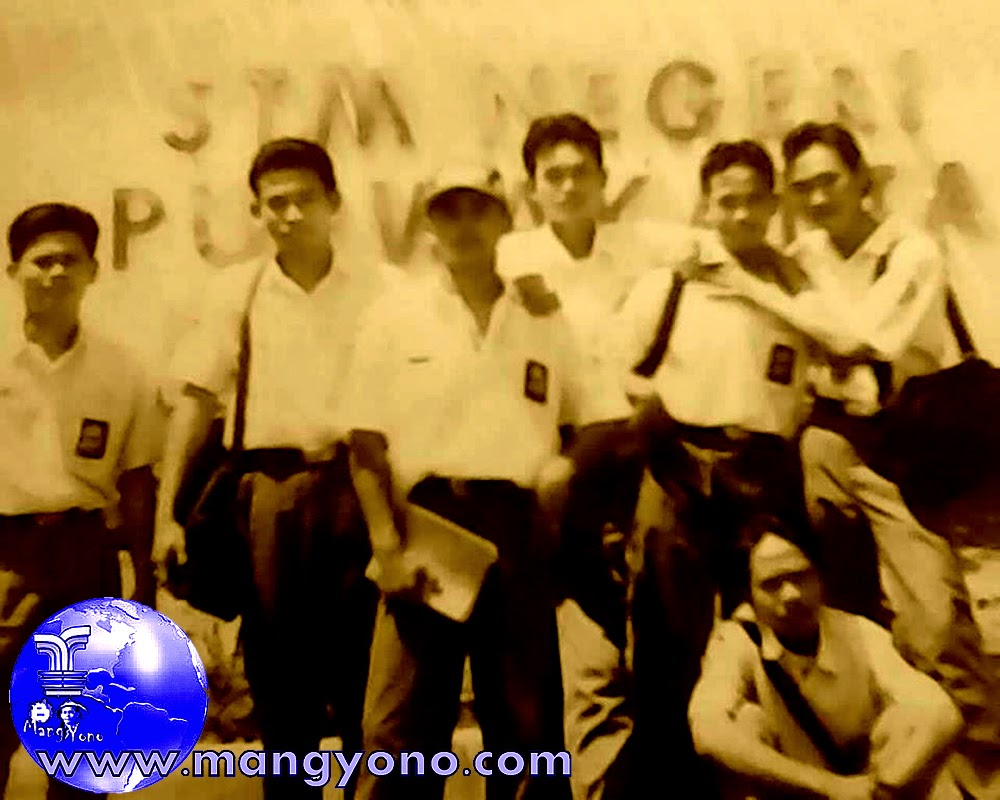Foto jadul, bareng teman - teman sekolah STMN Purwakarta. Foto dokumen pribadi