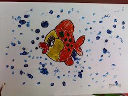 Crayon y vela