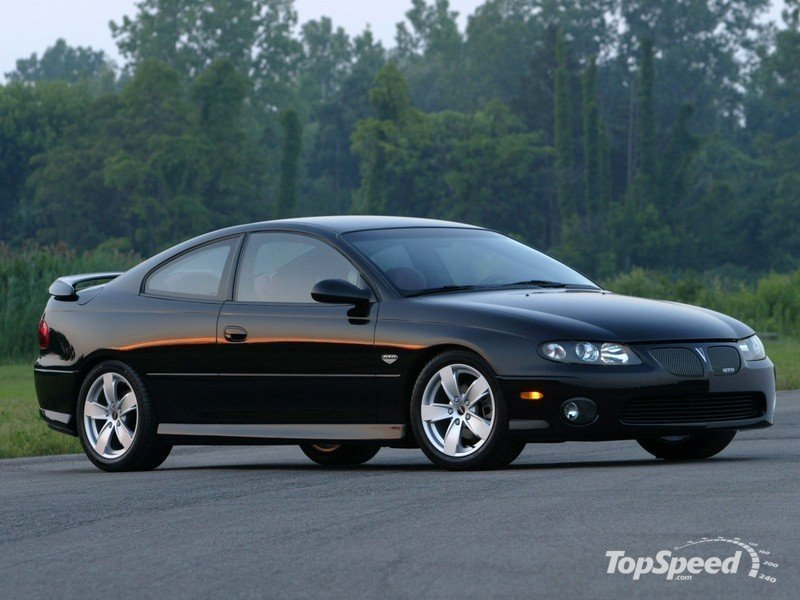 All About Muscle Car: Pontiac GTO 2005-2006-Top 10 Modern Muscle Cars