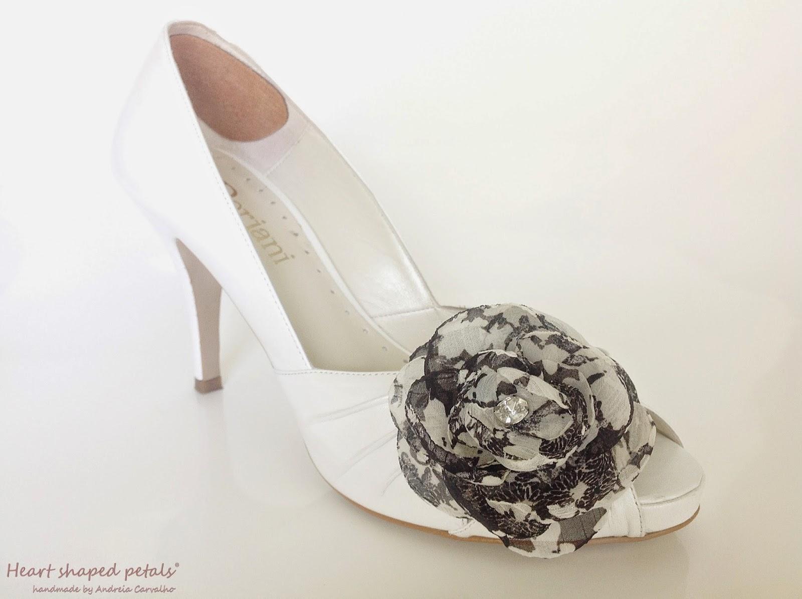 flores de tecido para noivas