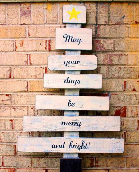 sapin de Noël planches en bois