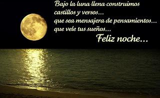 Imagen Bajo La Luna Llena (Imagenes para Facebook)