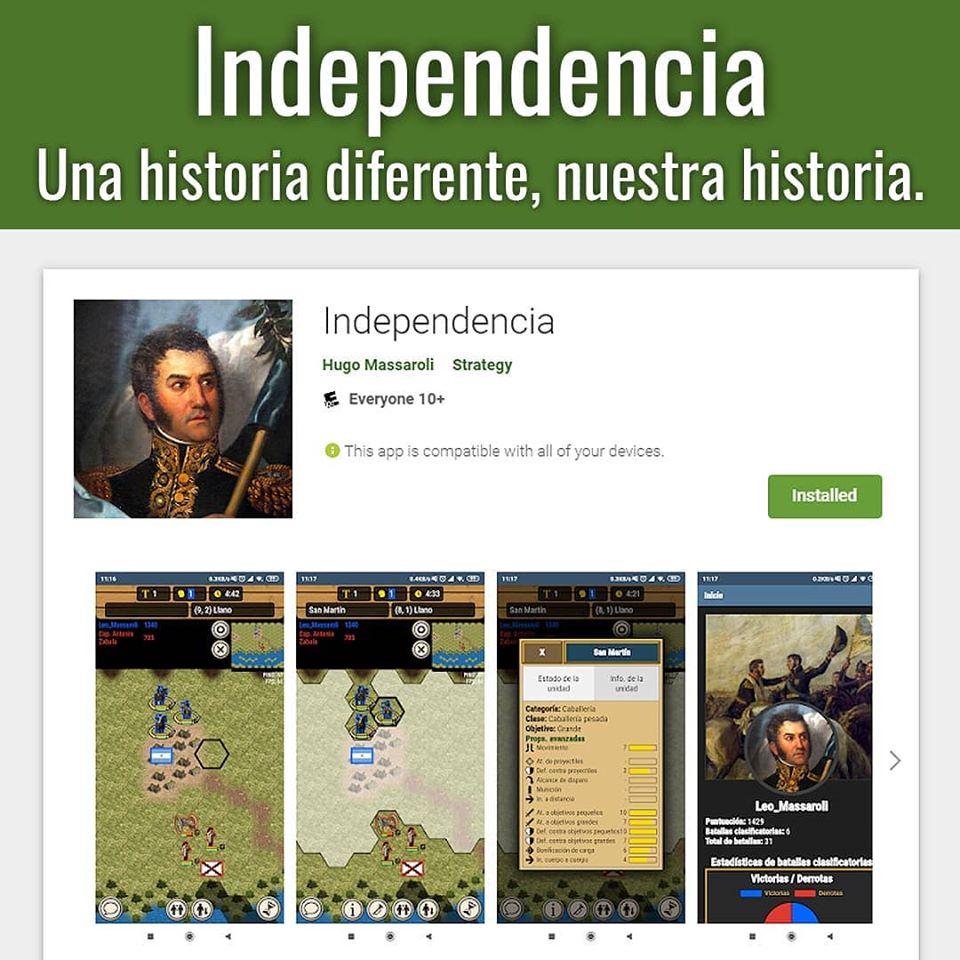 ¿Querés ponerte en el lugar de San Martín, Belgrano o Güemes y reencarnar sus grandes batallas?