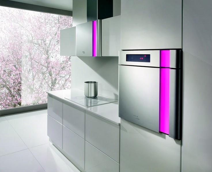 Electrodom sticos de color en el dise o de la cocina - Electrodomesticos de colores ...