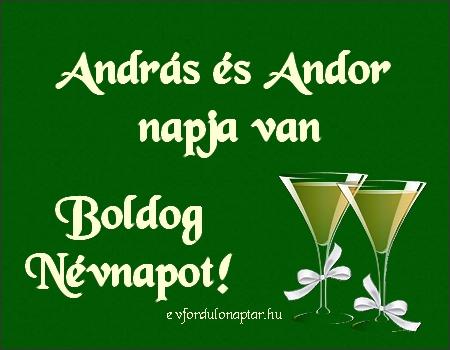 November 30 - András, Andor névnap