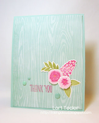 Floral Thank You-Designed by Lori Tecler-Inking Aloud-stamps and dies from WPlus9