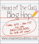 Head of the Class Blog Hop