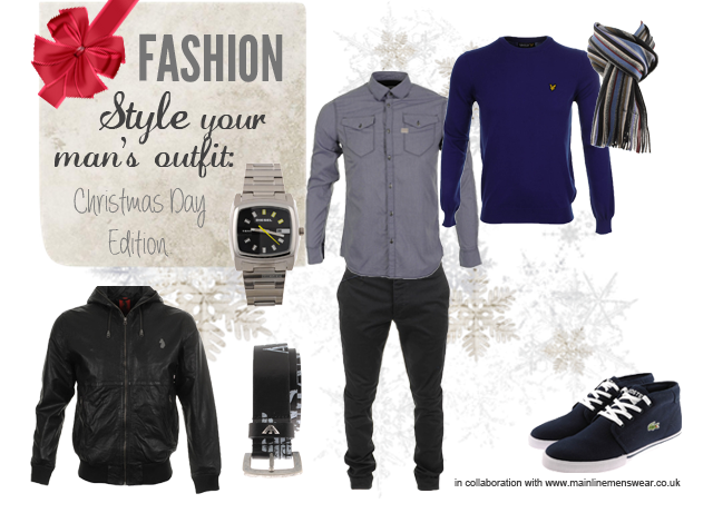 Style Your Man's Christmas Outfit Mainline Menswear
