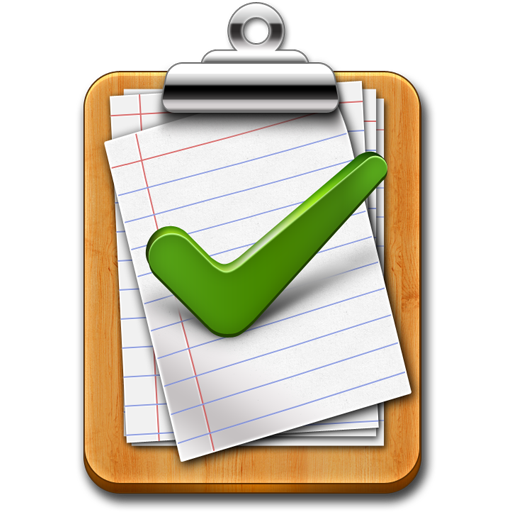 Free Tick Mark Approved Clipboard Icon PSD