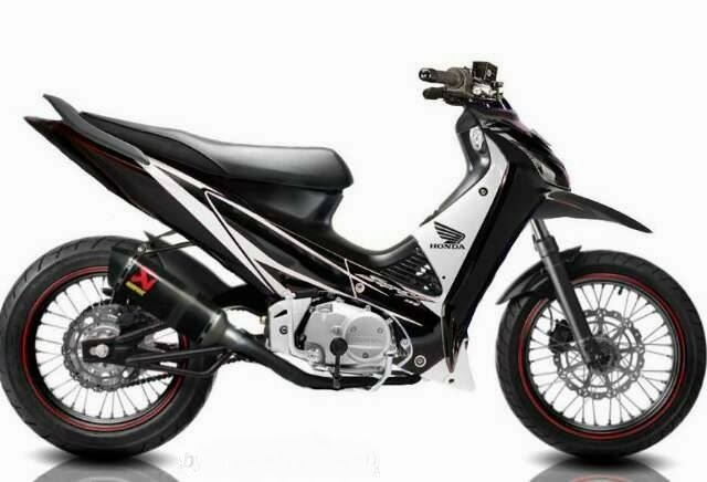 Modifikasi Warna Variasi Supra X 125 | Aktual Post