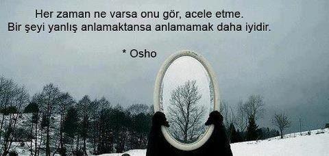 osho sözleri resimi