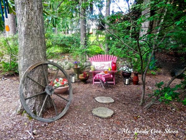 A Secret Garden Nook --- Ms. Toody Goo Shoes