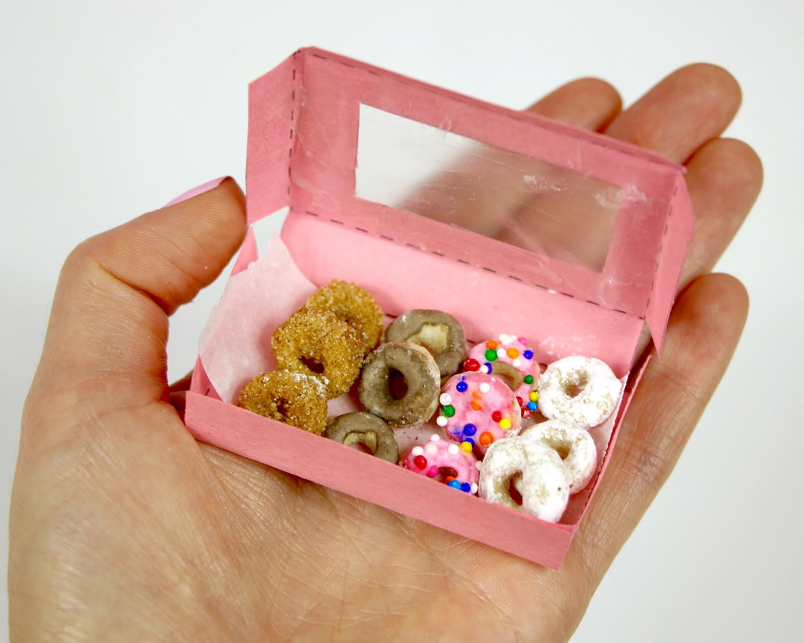 Video Miniature Cheerio Doughnuts Donut Sprinkles Lindsay Ann Bakes On The Go Pink How Much Fun Do These Turn Out Once You Put It All Together Can Create Just About Any Flavor Like Too Which Is Your Favorite