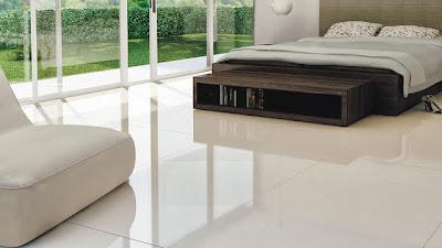 piso porcelanato para o quarto