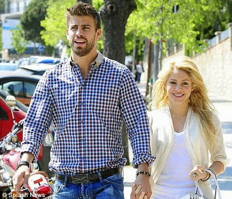 Gerard Pique girlfriend ShakiraGerard Pique Girlfriend