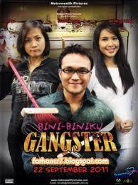Gambar Poster Filem Bini-Biniku Gangster