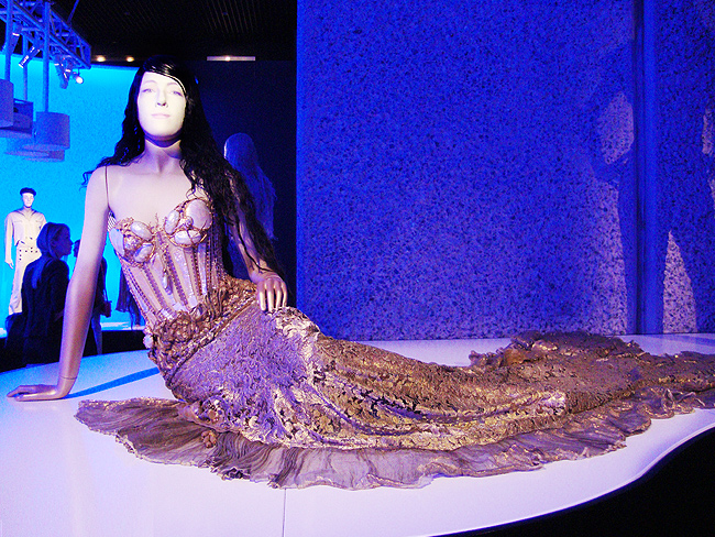 Jean Paul Gaultier, mermaid dress, mermaid collection
