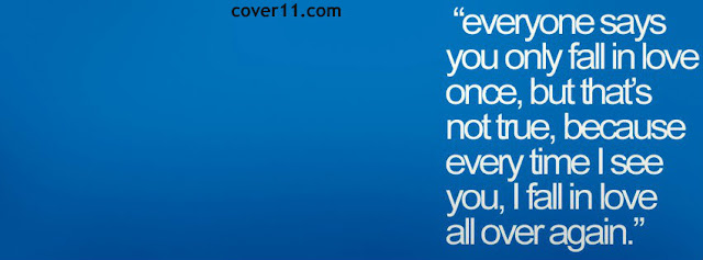 Love Quote Facebook Cover Photos