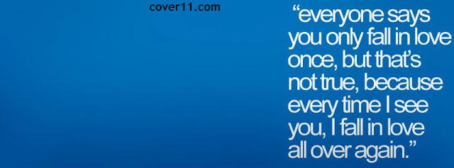 Love Quote Facebook Cover Photos