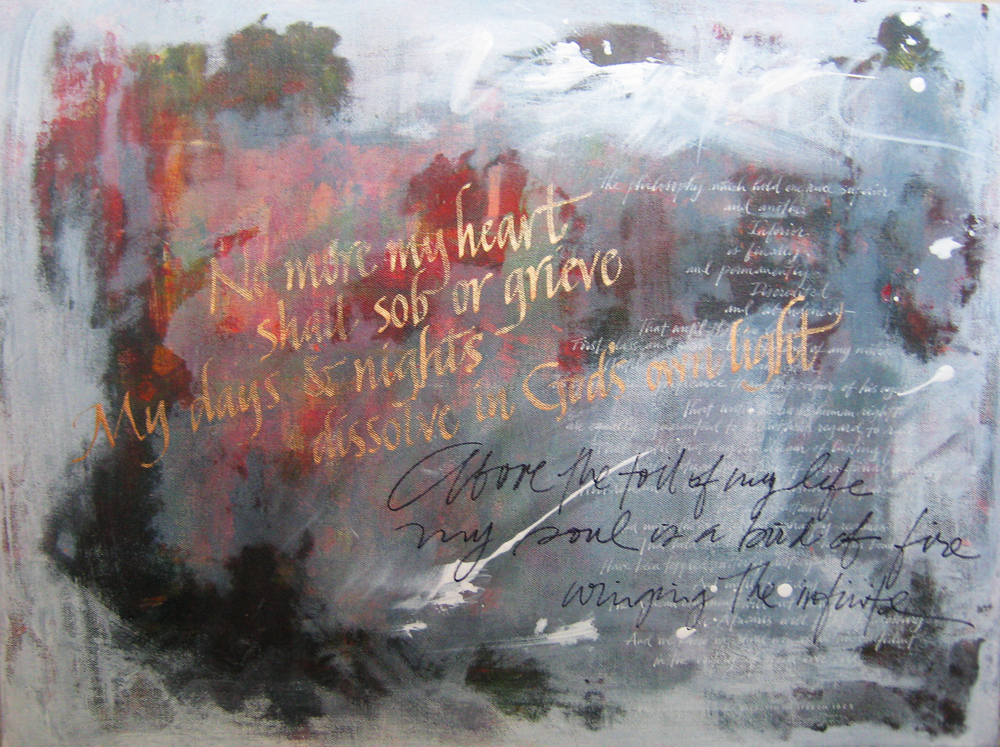 abstract paintings with words pictures to pin on pinterest