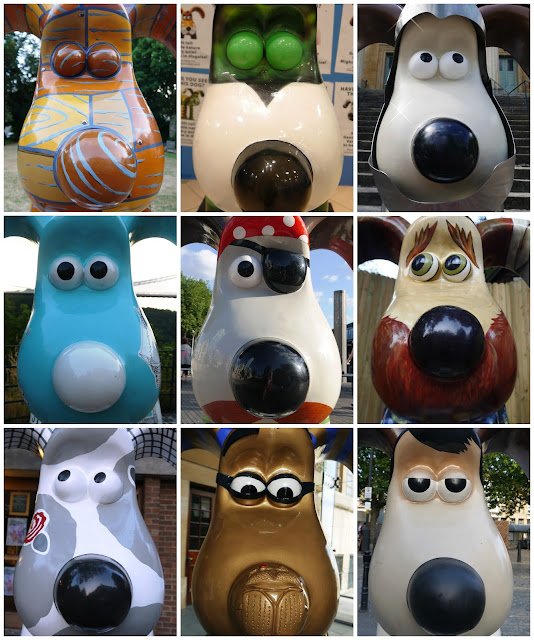 Gromit faces