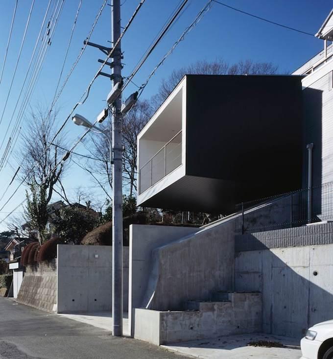 rumah dengan rasuk terjulur