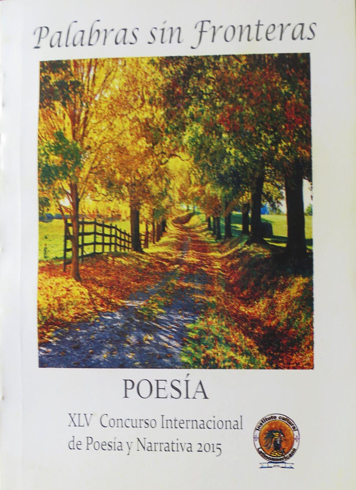 """3 poemas en """"Palabras sin fronteras-Poesía 2015"""""""
