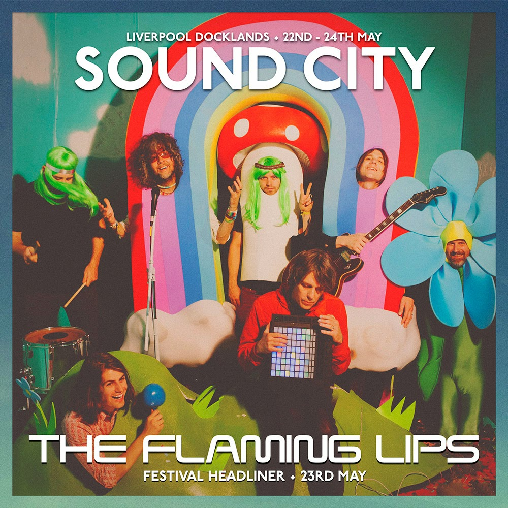 The Flaming Lips headline Liverpool Sound City