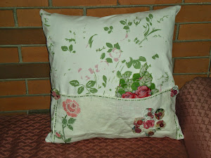 Vintage Rose Pillow