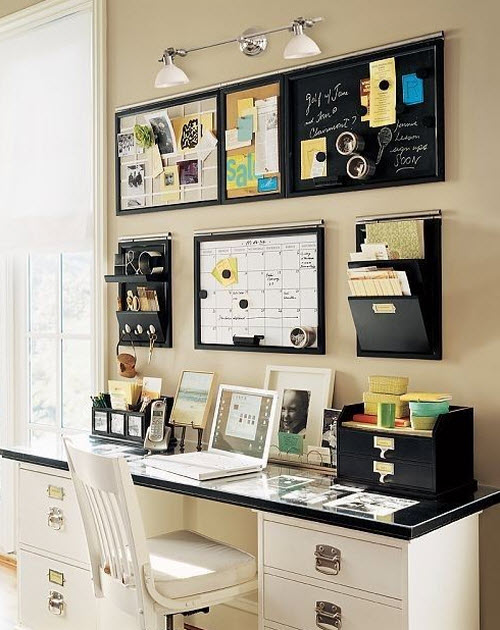 Idea para una oficina pequeña en casa