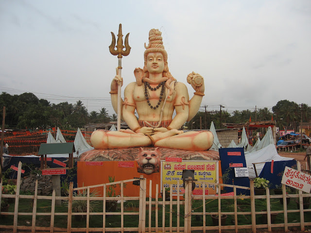 Shiva Statue has been shifted to new place