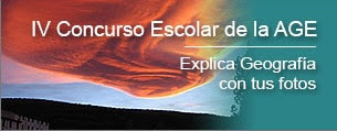 IV Concurso Escolar de la Asociación de Geógrafos Españoles.