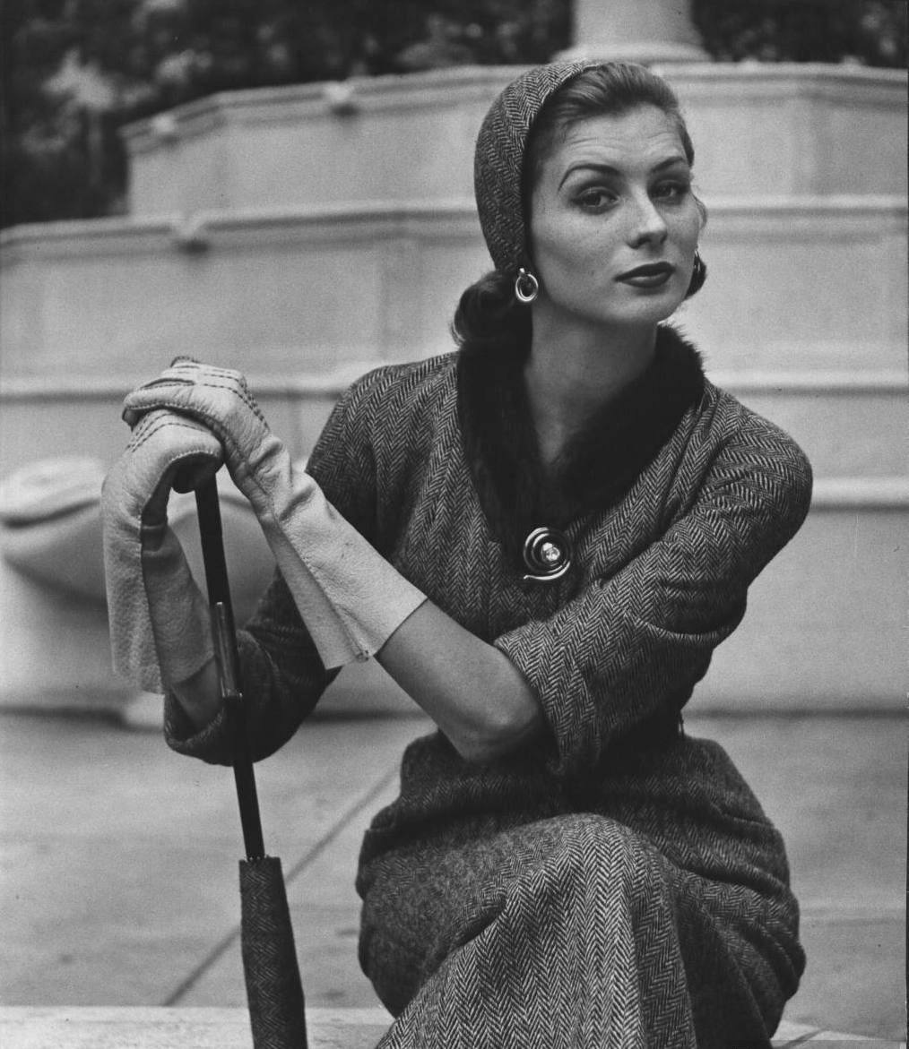 Ретро 50 годов женщины 16 фотография