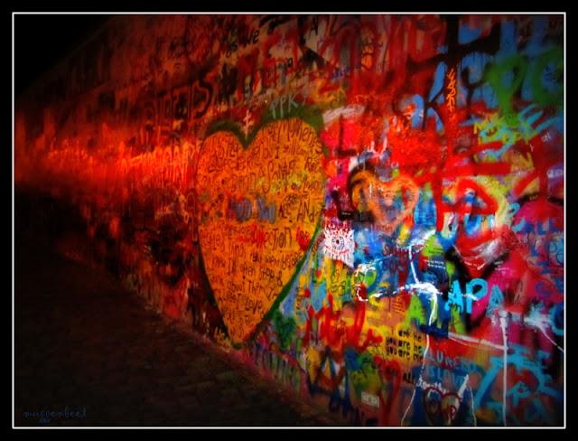Lennon Wall Praag