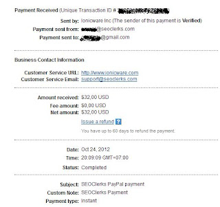 pembayaran kedua seoclerks