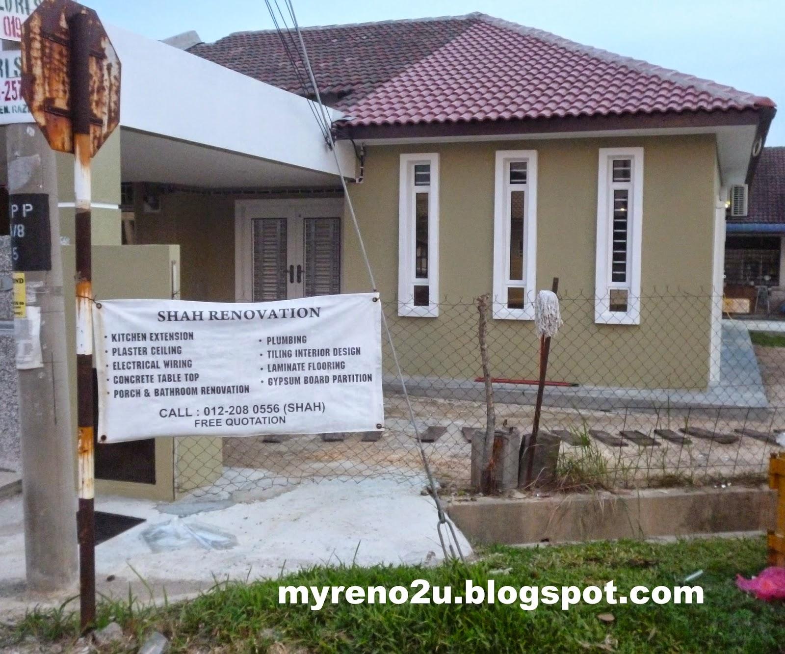 Ubahsuai Rumah Teres - MyReno2U