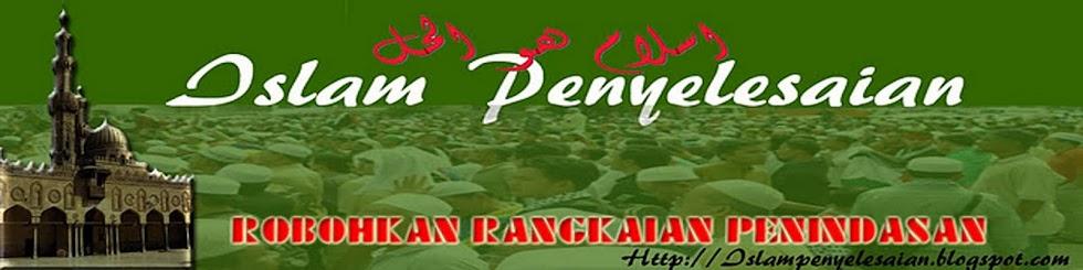 ISLAM PENYELESAIAN