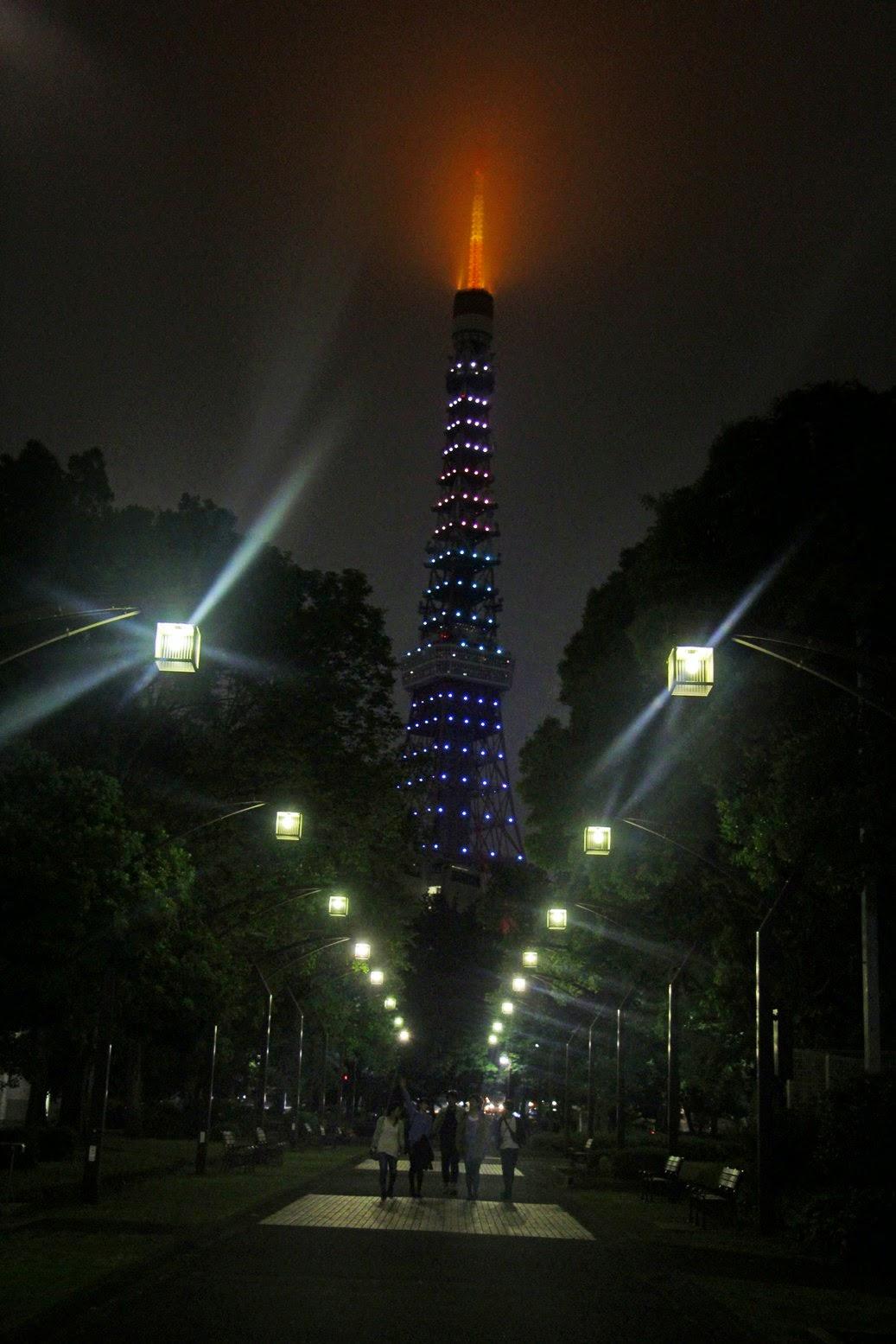 The Viewing Deck Tokyo City At Night The Tower Amp Shibuya