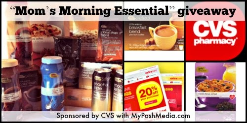 CVS Mom's Morning Essentails Giveaway