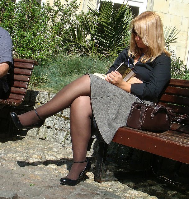 Buuuu hot legs candid street pantyhose upskirt whore does