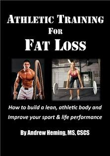 "New ebook ""Athletic Training for Fat Loss"""