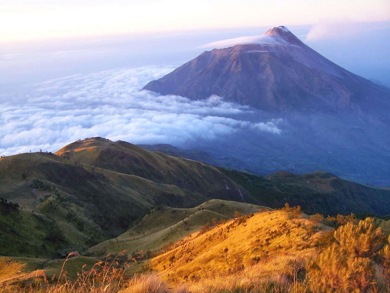 Beberapa Gunung Berapi di Pulau Jawa