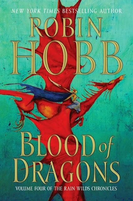 Book Cover of Blood of Dragons by Robin Hobb (Rain Wilds Chronicles: Book Four)