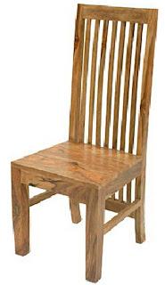 Cadeira de madeira para sala ou cozinha
