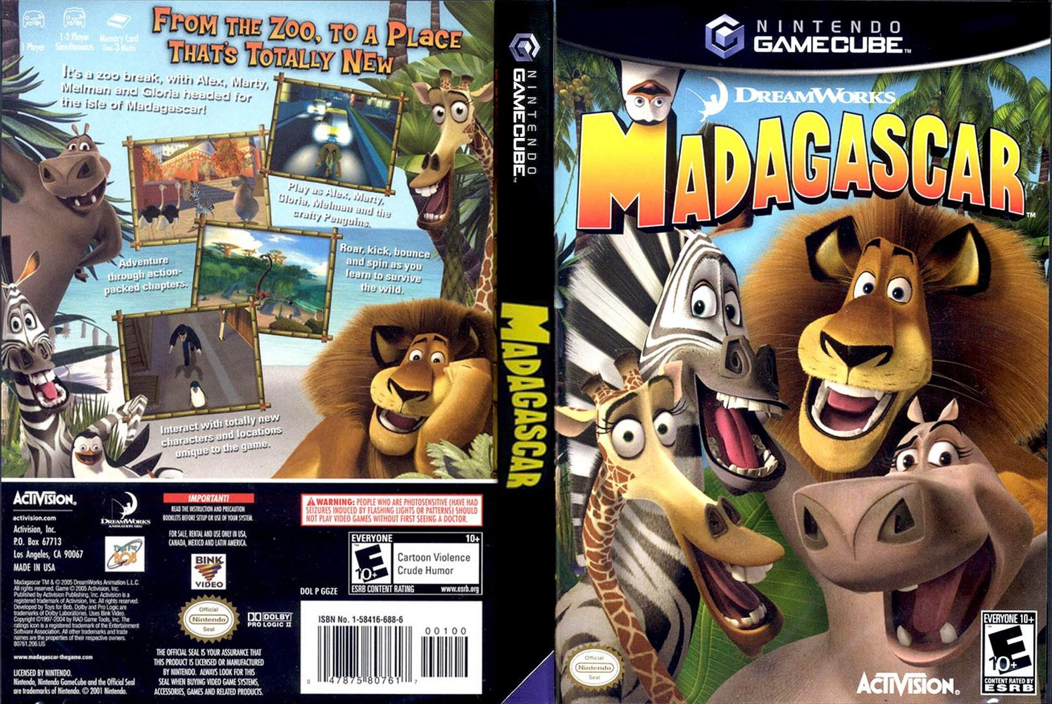 Download Game Madagascar The Game PS2 Full Version Iso For PC
