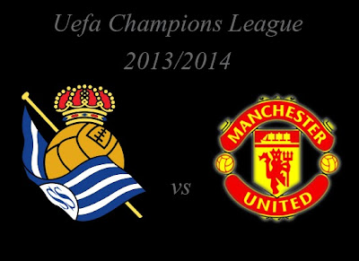 Champions League Group Stage Real Sociedad  vs Manchester United 2013