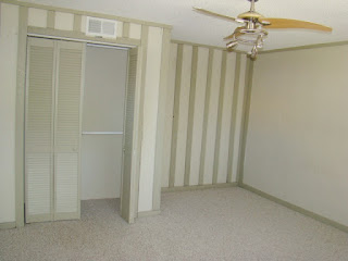 Wallpaper is no longer in style and will yield lower rental rates for investment properties