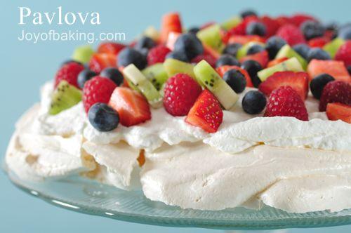 ... curd pavlova with lemon curd and berries kerstin rodgers giant pavlova