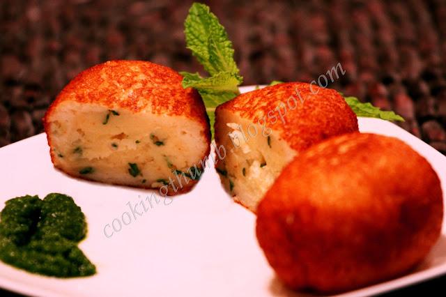 Indian Stuffed Potato Bread Rolls